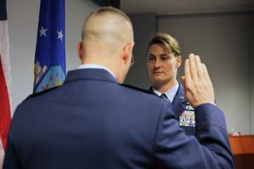 Teri Air Force Promotion Ceremony