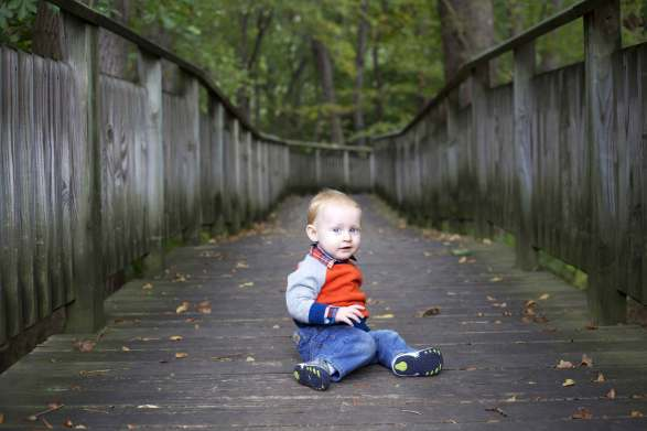 Mike's One-Year Portraits